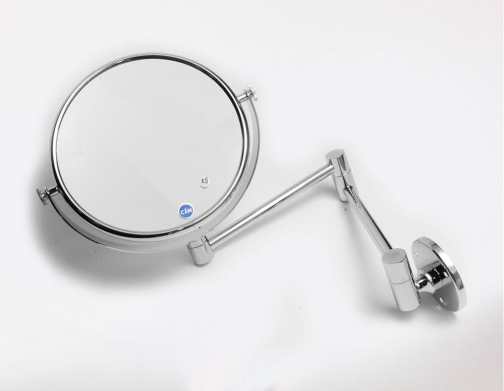 Espejo cristal ptico de pared x5 aumentos 18 cm for Espejo 20 aumentos