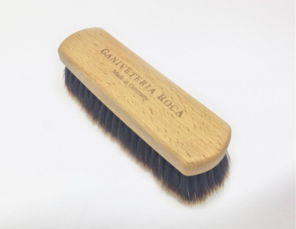 Cepillo para ropa con madera haya y cerda de caballo - Cepillo de madera ...
