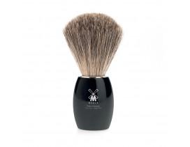 Brocha de afeitar Muhle Modern T resina negra