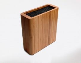 Bloque de madera vacío para guardar todo tipo de piezas, cuchillos, tijeras…