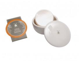 Jabón para afeitar Mühle plantas con bol porcelana