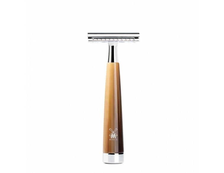 Maquinilla de afeitar Mühle  Liscio resina blanca