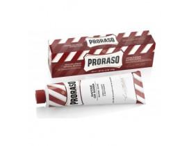 Tubo crema afeitar Proraso para pieles sensibles