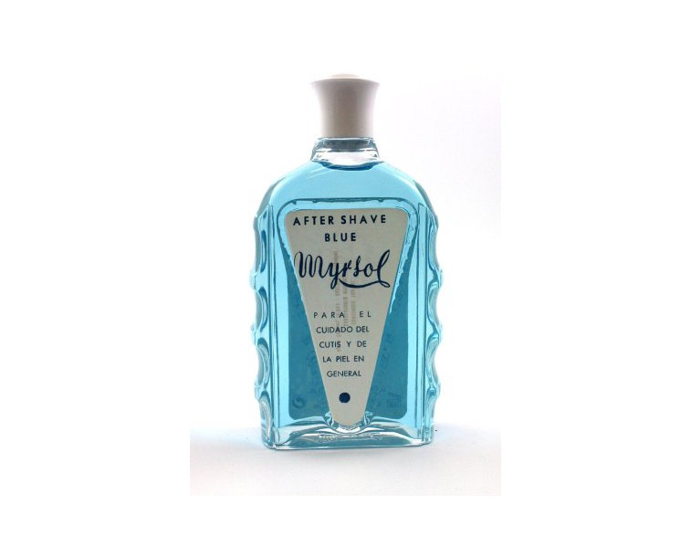 Masaje Myrsol After shave blue 180 mL