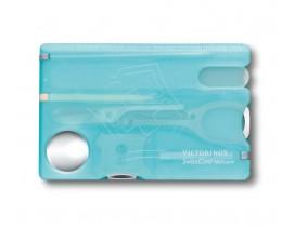 SwissCard Nailcare Victorinox, azul claro transparente