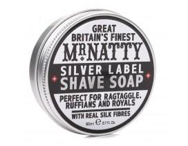Jabón afeitar silver label MR.NATTY 80ml