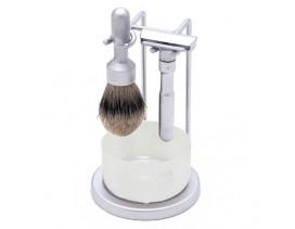 Juego afeitado Merkur Futur Brillo 4 Piezas