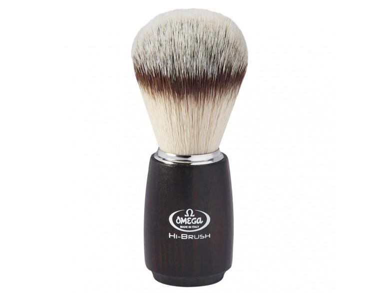 Brocha afeitar Omega Hi-Brush imitación asta