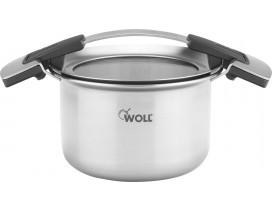 Olla Woll Concept PRO 24  cm fuego, inducción y vitrocerámica.