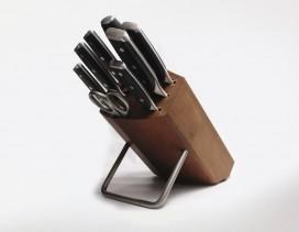 Juego Wüsthof de cuchillos XLINE 8 piezas con taco de madera