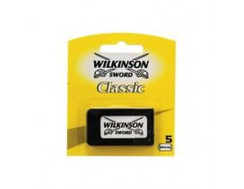 Paquete 5 hojas afeitar Wilkinson Classic