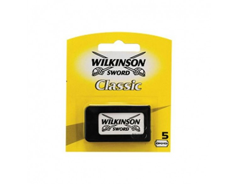 Paquete 5 hojas afeitar Wilkinson Classic