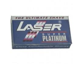 Paquete 10 hojas afeitar Laser super platinum