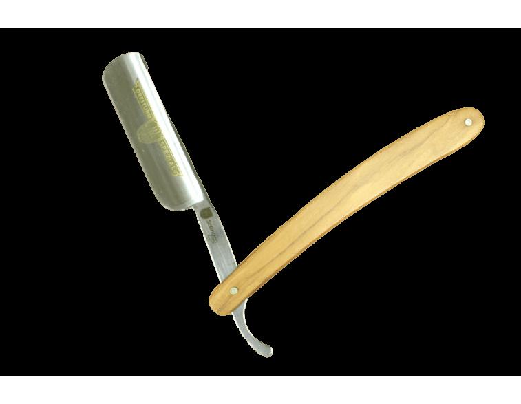 Navaja afeitar dreiturm 6/8 madera de Zebrano