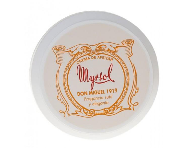 Crema de afeitar Myrsol Don Miguel 1919