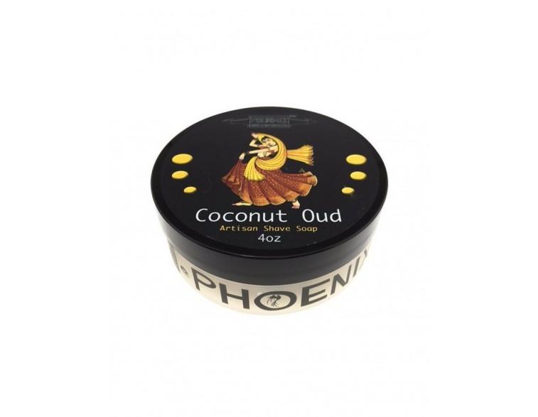 Jabón afeitar Coconut Oud Phoenix Artisan Accoutrements