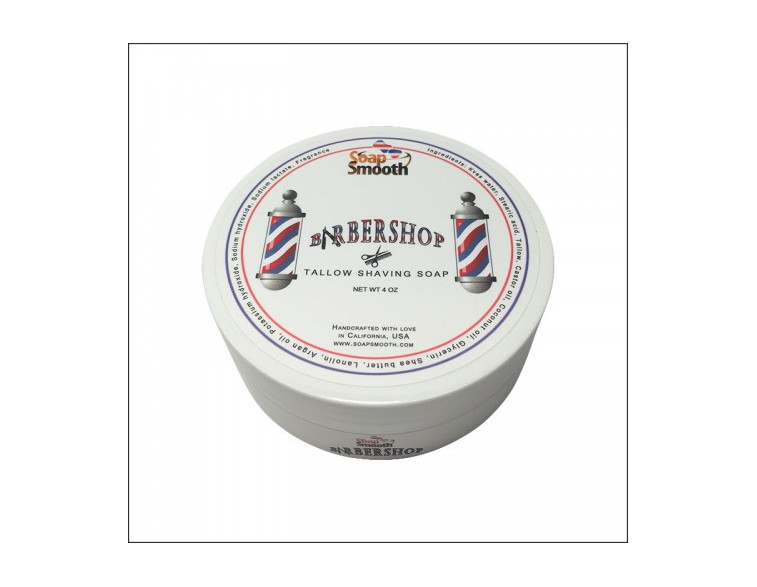 Jabón de afeitar Barbershop Tallow Soap Smooth