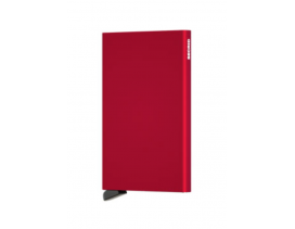 Tarjetero Secrid Cardprotector red