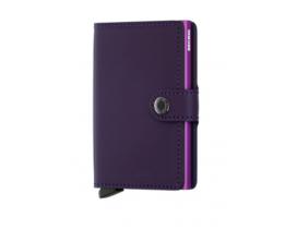 Tarjetero Secrid MiniWallet Purple