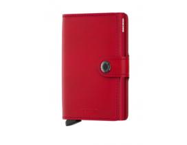 Tarjetero Secrid MiniWallet Red