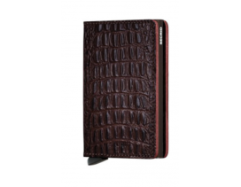 Tarjetero Secrid SlimWallet Nile Brown