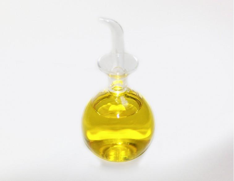 Aceitera cristal 250 mL modelo ronda