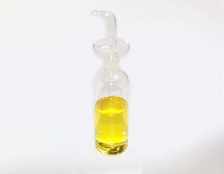 Aceitera cristal 250 mL modelo cilíndrica