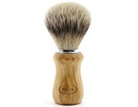 Brocha-afeitar-Omega-tejón- 1ª-mango-olivo