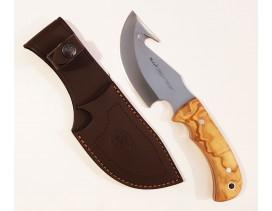 Cuchillo desollador Muela Grizzly madera olivo