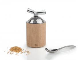 Molinillo Peugeot Isen para lino y sésamo madera de haya
