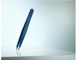 Pinzas-depilar-Rubis-Switzerland-recta-azul