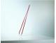 Pinzas -depilar-Rubis-Switzerland-sesgada-roja