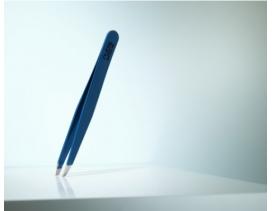 Pinzas-depilar-Rubis-Switzerland-sesgada-azul