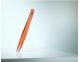 Pinzas-depilar-Rubis-Switzerland-sesgada-naranja