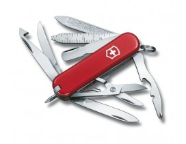 Navaja Victorinox mini 18 usos MiniChamp roja