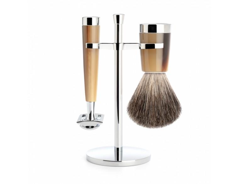 Juego-de-afeitar-Mühle-LISCIO-resina-imitación-asta