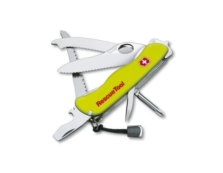 Navaja-Victorinox-grande-rescate-Rescue-Tool-13-usos-fosforescente