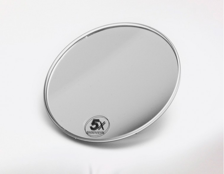Espejo ventosa metacrilato x5 aumentos Ø 15,5 cm