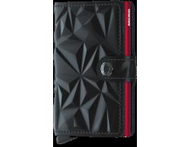 Tarjetero Secrid MiniWallet Prism Negro-Rojo