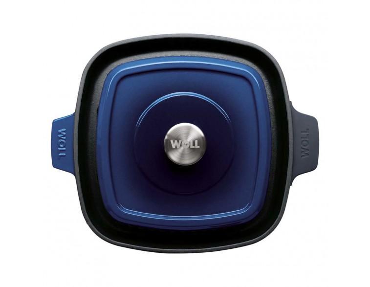 Parrilla Wöll Iron 24 cm x 24 cm azul cobalto