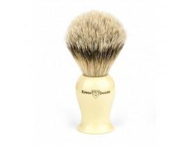 Brocha afeitar de tejón Plaza Edwin Jagger imitación marfil