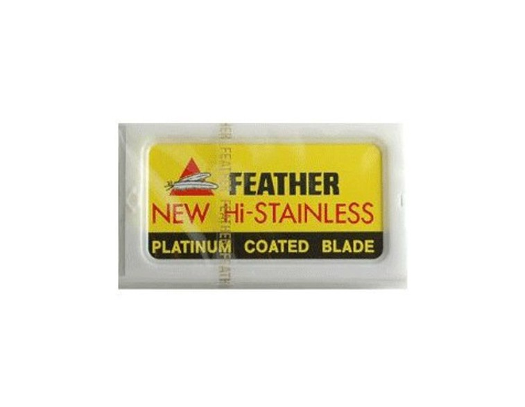 Paquete 10 hojas afeitar Feather