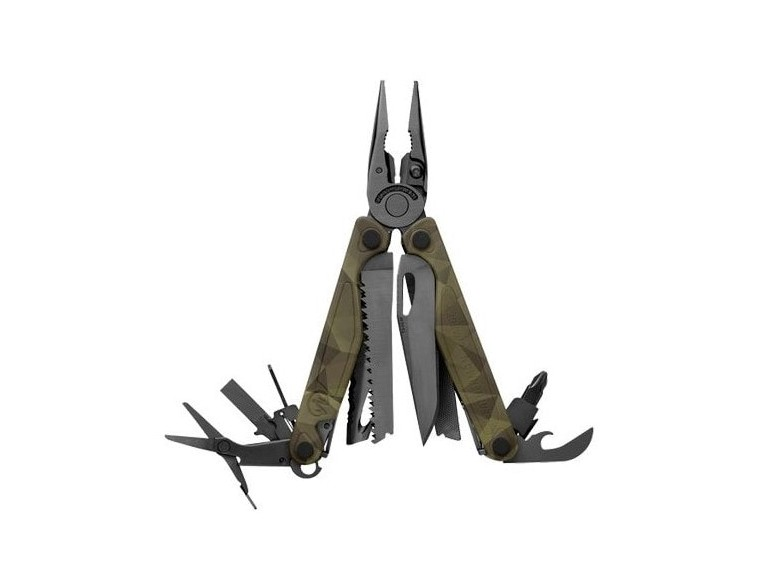 Multiherramienta-Leatherman-CHARGE-plus-Camo-Forest-camuflaje