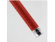 Maquinilla clásica afeitar inox PC 3one6 Edwin Jagger rojo