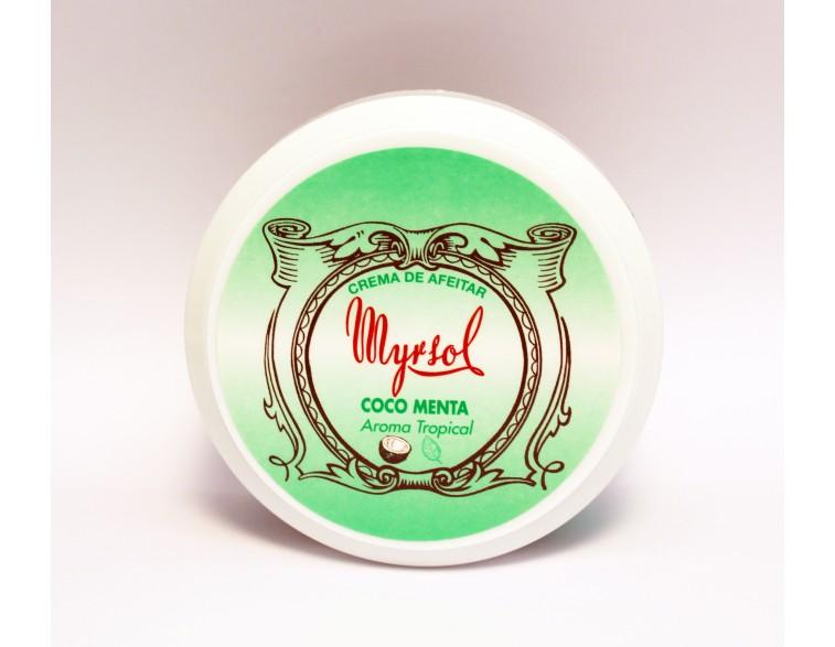 Crema-afeitar-Myrsol-Coco-Menta