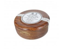Bol-madera-jabón-afeitar-Dr-Harris-Almond-100-gr