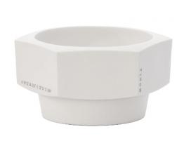 Bol-afeitar-Mühle-Hexagon-porcelana-blanca