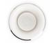Bol de afeitar Mühle porcelana blanca