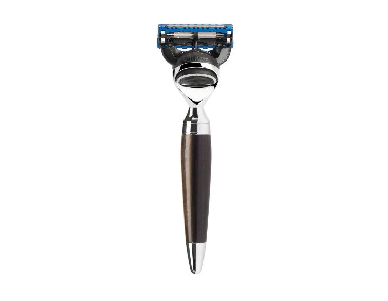 Maquinilla-de-afeitar-Fusion-Mühle-STYLO-madera-de-granadilla