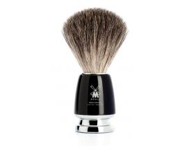 Brocha-afeitar-tejón-Mühle-Rytmo-negra